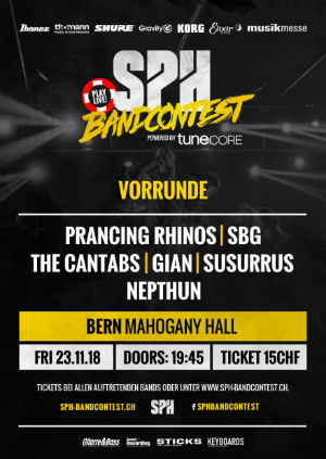 SPH Bandcontest - Mahogany Hall