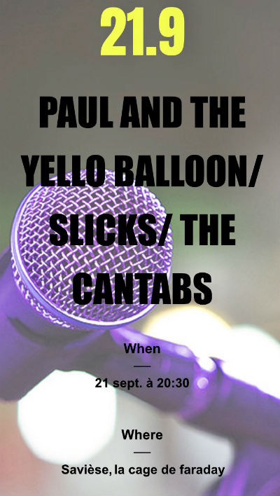 the cantabs live @ cage de faraday